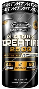MUSCLE TECH Platinum Creatine 2500 (120 kasp.)