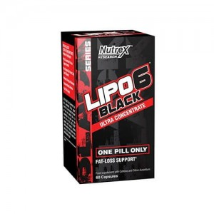 NUTREX Lipo 6 Black Ultra Concentrate (60 kaps.)